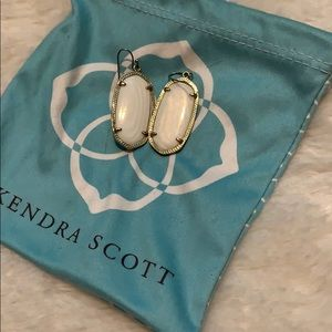 Elle white w/gold  KENDRA SCOTT